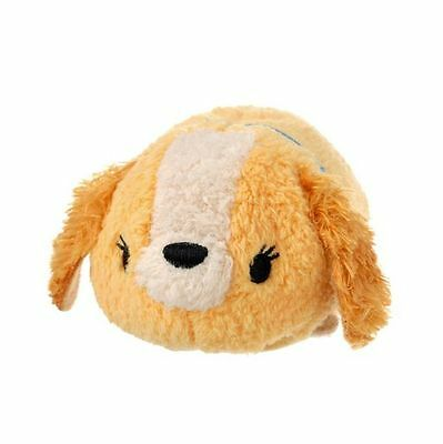 Disney Store Mini (S) Tsum Tsum Lady and the Tramp Lady Plush Doll