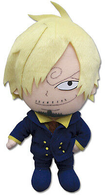 """1x Authentic Official Sealed One Piece 7.5"""" Sanji Plush Great Eastern (GE-52555)"""