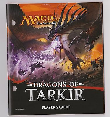 MTG Magic - Dragons of Tarkir Player's Guide ( from fat pack )