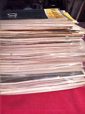 LOT OF 101 PLAYBILLS 1910'S - 1980'S CATS BROADWAY VINTAGE RARES THEATRE MUSICAL