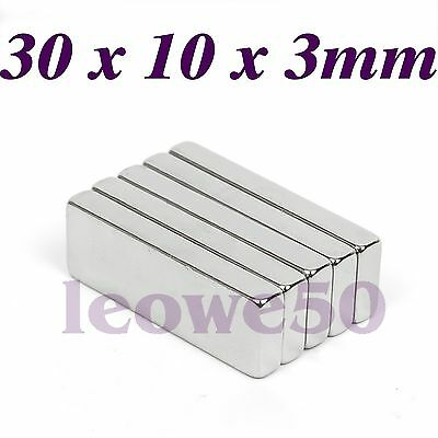 5/10/25 x Ring Round Magnet 20x3mm Rare Earth Neodymium With 5mm Hole N721