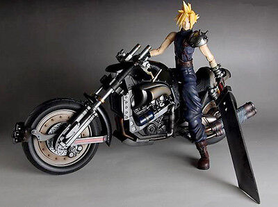 Final Fantasy VII Cloud Strife /& Hardy Daytona Action Figure Deluxe Set SQ57