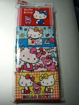 Sanrio Hello Kitty Face tissue paper pack of 4 special only in  japan rare item