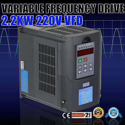 3Hp 2.2Kw Vfd Frequenzumrichter Calculous Pid Load Capability Closed-Loop Vsd
