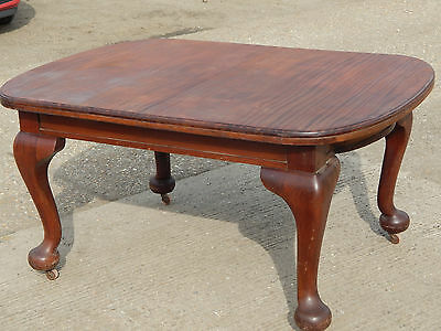 mahogany,dining table,table,dining room,kitchen,pad feet,victorian,cabriole legs