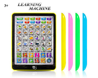 Electronic Childrens Tablet Play Read Game Toy Educational Computer iPad Kids