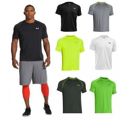 Under Armour HG Loose Tech SS Tee Academy T-Shirt 1228539