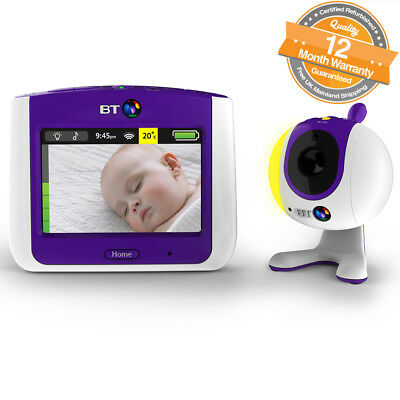 """BT Video 3.5"""" LCD Touchscreen Baby Monitor 7000 With Lullabies And Nature Sounds"""