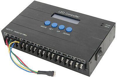 Professional Led Lighting Tape Controller 35 Mode DMX Compatible
