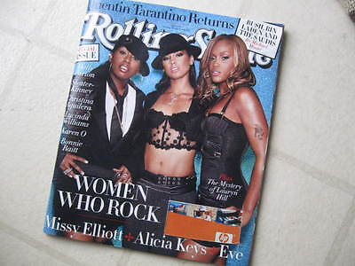 Rolling Stone Mag 2003 Special Women/rock A Keys Karen O Lucinda Missy Eve Dolly