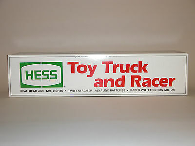 Hess 1991 Toy Truck And Racer  Mint In The Box
