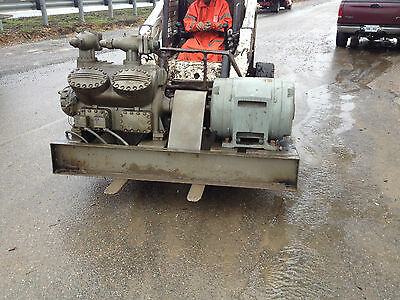 Used Carrier Carlyle Direct Drive 125 HP Refrigeration Compressor 5H86 - 179
