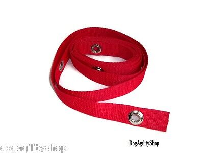 """Dog Agility Equipment-24"""" Weave Pole Placer for (6) Weave Poles-Red"""
