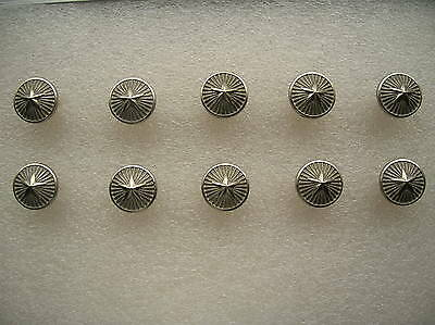 07's China PLA Reserve Army,Navy,Air Force General Metal Buttons,10 Pcs,15mm,A