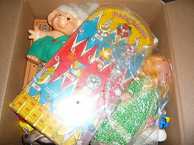 VINTAGE TOY LOT FISCHER PRICE AND MORE! JUNK DRAWER