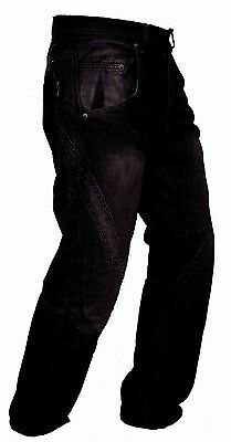 Newfacelook Motorbike Motorcycle Trousers Jeans With Protective Lining I-112JB