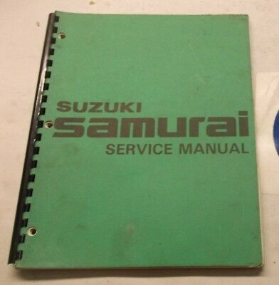 suzuki sj413 service manual repair manual