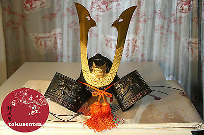 Kabuto Casque Samourai Helmet Samurai Genuine Antique Japonais Made In Japan