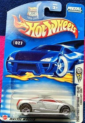 2003 Hot Wheels FIRST EDITIONS Cadillac Cien !! Blowout Sale !!