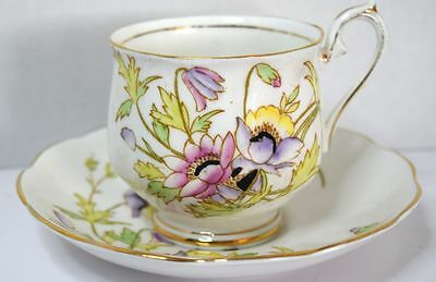 Royal Albert GLORIA Bone China England Tea Cup Saucer 2723