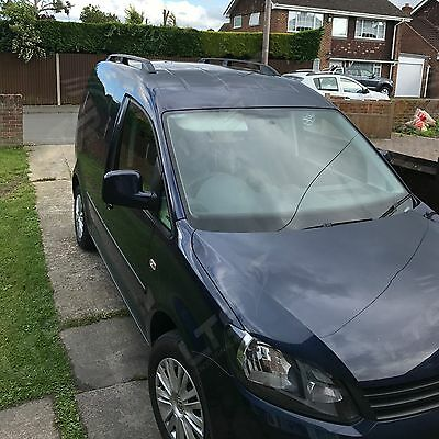 Vw Caddy Aluminium Roof Rail Bars Roof Racks Set Black 2010 Onward