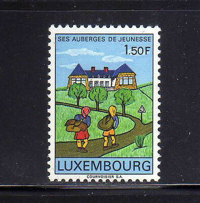 LUXEMBURGO/LUXEMBOURG 1967 MNH SC.454 Youth Hostels