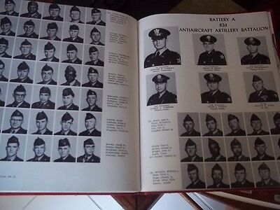Fort Lewis WA 1956 2nd Division Artillery Recruit Book Hundreds of Photos