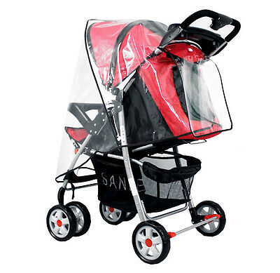 Universal Stroller Weather Shield Rain/Wind Waterproof Cover Fit Baby Stroller