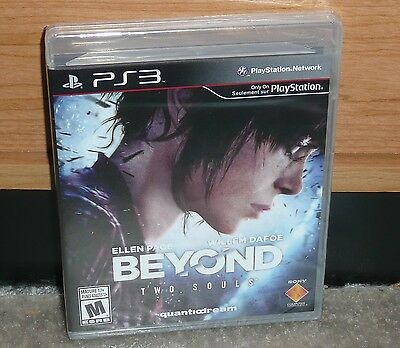 PS3 - BEYOND: TWO SOULS 2013 (Brand NEW Sealed) Quantic NTSC worldwide shipping