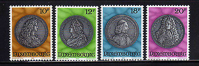 LUXEMBURGO/LUXEMBOURG 1986 MNH SC.721/724 Portrait Medals