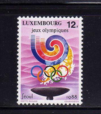 LUXEMBURGO/LUXEMBOURG 1988 MNH SC.797 Olympic Games Seul