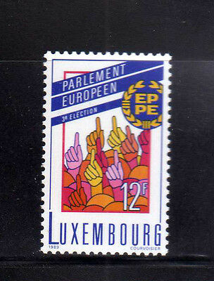 LUXEMBURGO/LUXEMBOURG 1989 MNH SC.807 European Parliament 3rd.elections