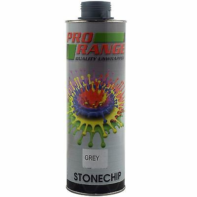 Pro Range 1 Litre Grey Stone Chip Can be over Painted Paintable