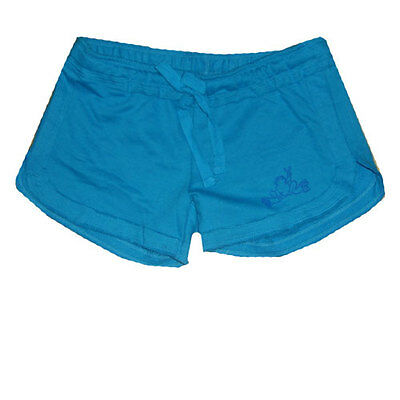 Peace Frogs Medium Youth Fleece Shorts Turquoise
