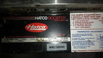 Hatco Booster Heater