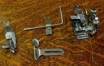 VINTAGE SINGER SEWING MACHINE BACK CLAMP  ATTACHMENTS REAR MOUNT