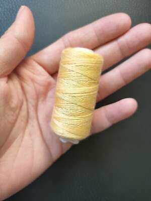 yellow Jeans shoes bags thread real strong thick Sewing thread Spools thread