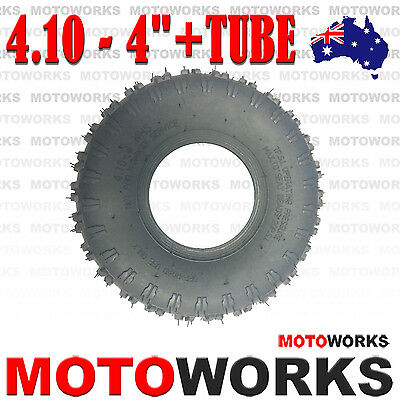 "3.50 / 4.10 - 4"" inch Tyre Tire + Tube 47cc 49cc Mini Quad Dirt Bike ATV Gokart"