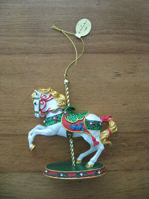 NWT & BOX THE DANBURY MINT MBI CARNIVAL CAROUSEL ORNAMENT COLLECTION