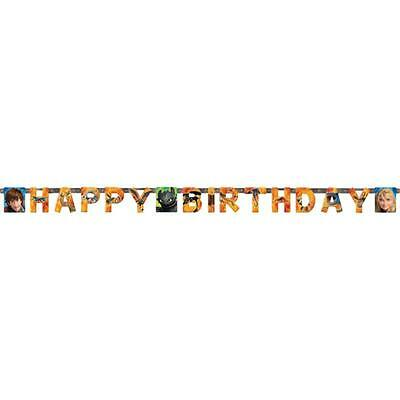 How to Train your Dragon 2 Happy Birthday Banner (1) Shop Now HQ Party Supplies