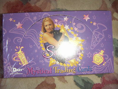 SABRINA THE TEENAGE WITCH Mystical Trading Cards 1 Full Box Dart