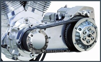 """ULTIMA open belt drive 2"""" old school style for Harley Davidson and custom 99-05"""