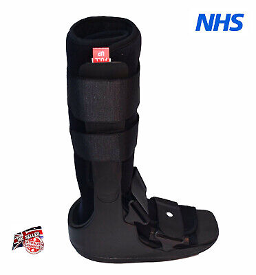 Universal Fracture Ankle Foot Sprain Injury Walker Boot Brace Support Fixed NHS