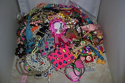 7 LBS POUNDS KIDS CRAFT JUNK JEWELRY LOT CHILDREN'S RAINY DAY BOREDOM BUSTER #2