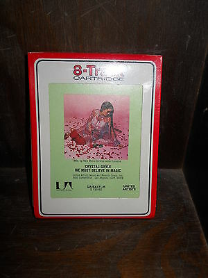 Crystal Gayle We must believe in Magic SEALED! 8 Track Tape eight