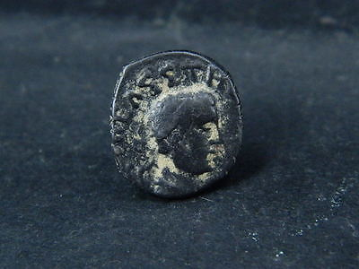 Ancient Copper Coin Bactrian 100 BC No Reserve   #5983
