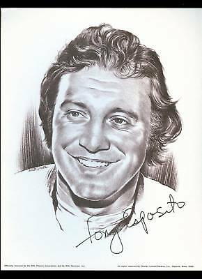 1974 Tony Esposito Chicago Blackhawks Linnett Portrait