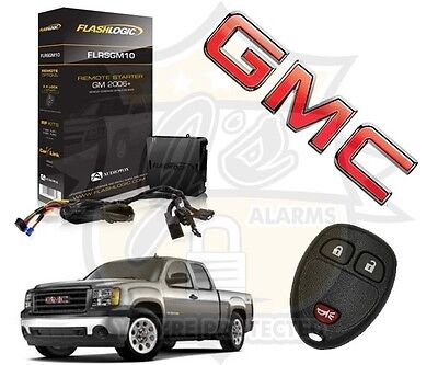 2008-2013 Gmc Sierra Truck Plug & Play Remote Start System Chevrolet Gm Simple