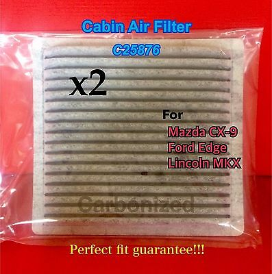 X C Charcoal Carbon Cabin Air Filter   Mazda Cx  Ford Edge