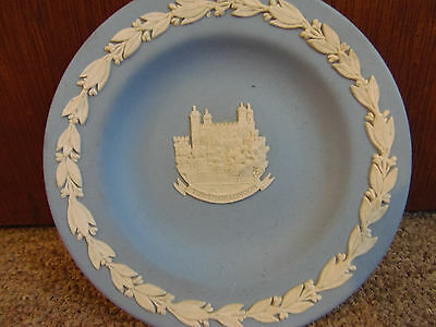 Blue Wedgewood Jasperware Saucer Tower of London, Made in England